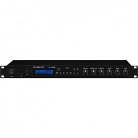 Amplificatore stereofonico con potenza 2x70W, radio FM lettore USB/SD/MMC e bluetooth
