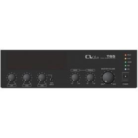 Amplificatore mixer PA 65W in Classe D con ingressi Mic e Linea per impianti diffusione sonora