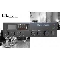 Amplificatore mixer PA 35W con con MEDIA PLAYER Tuner FM, Lettore/Registratore MP3 su USB/SD card e Bluetooth