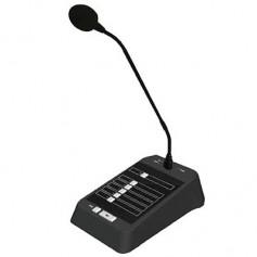 Base microfonica a zone per amplificatori serie T con selettore 5 zone/All e Chime
