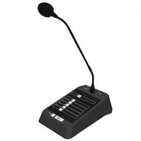 RM4 - Base microfonica a zone per amplificatori serie MA84 con selettore 4 zone/All e Chime