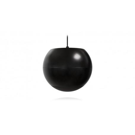 Diffusore 2 vie a sospensione sferico nera per diffusione sonora