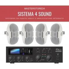 Sistema audio per diffusione sonora stereofonica di qualità