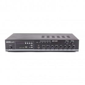 Amplificatore filodiffusione 2 zone 100W con sorgenti Radio/USB/SD Card