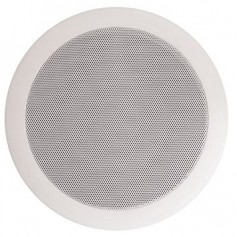 Diffusore ad incasso a soffitto altoparlante 20 cm, con trasformatore per linea a 100 V