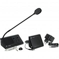 Interfono da sportello - Sistema di comunicazione tra due locali separati da vetro di protezione
