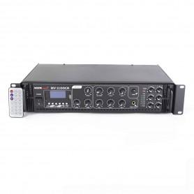 Amplificatore 60 Watt 6 zone con BLUETOOTH - USB / SD per sistema di filodiffusione audio