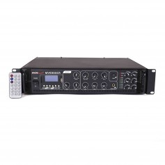Amplificatore 180 Watt 6 zone con RADIO - USB / SD per sistema di filodiffusione audio