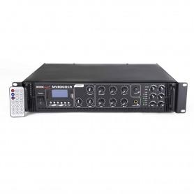 Amplificatore 350 Watt 6 zone con BLUETOOTH - USB / SD per sistema di filodiffusione audio