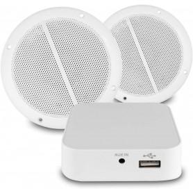 Impianto audio ambienti umidi da incasso