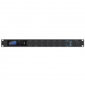 Pre-Mixer stereo 6 canali con Mediaplayer