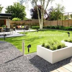 Impianto diffusione sonora per esterno da giardino