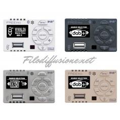 Kit Amplificatore multimediale da incasso per scatola 503 con radio DAB+, radio FM, Usb e Bluetooth