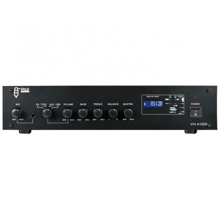 Ulisse A100S Amplificatore stereofonico con sorgenti integrate 8ohm per filodiffusione