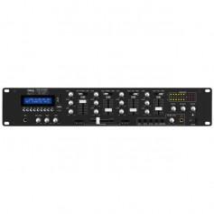 Mixer Audio 4 canali con lettore MP3 integrato e con ricevitore bluetooth per filodiffusione