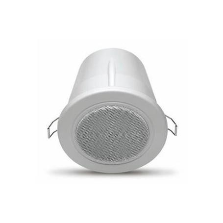 Mini Diffusore da incasso con griglia metallica protettiva 100V IP55 - (COPPIA)