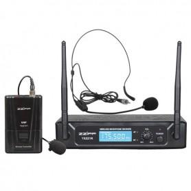 Radiomicrofono ad archetto lavalier VHF monofrequenza