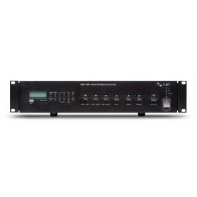 MDS 1060 FBT Amplificatore PA 60W con sorgenti integrate USB - Radio FM per filodiffusione
