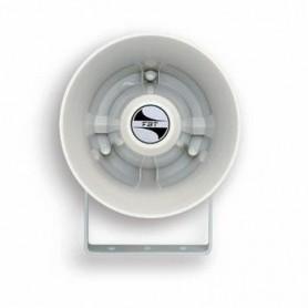 Altoparlante megafono tromba stagna IP66 potenza 10W profilo circolare in ABS
