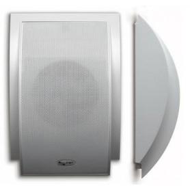 Diffusore acustico da muro a mezza luna - 6W - 100V (coppia)