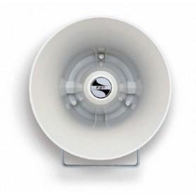 Altoparlante megafono tromba stagna IP66 potenza 20W profilo circolare in ABS