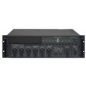 Amplificatore Mixer P.A. da 250W a 10 ZONE di controllo volume con Attenuatore