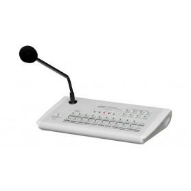 Base microfonica a zone per annunci vocali