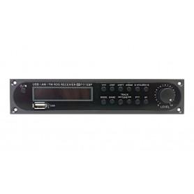 Modulo sorgenti audio per amplificatori PA JD-Media - Radio FM e porta USB