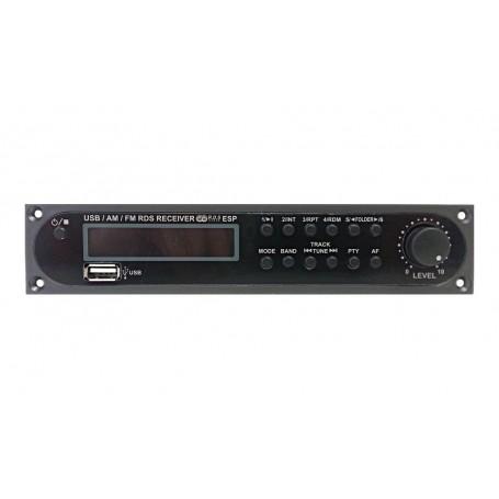 Modulo sorgeti audio per amplificatori PA JD-Media - Radio FM e porta USB