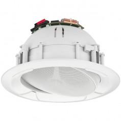 Diffusore orientabile tondo da incasso HI-FI per diffusione sonora 30W - 100V