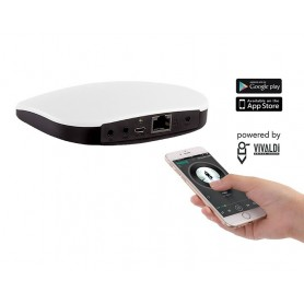 Mediacenter AUDIO sorgente multimediale di zona per Giove FREE con gestione da smartphone o tablet