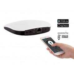Mediacenter AUDIO sorgente multimediale di zona con gestione da smartphone o tablet