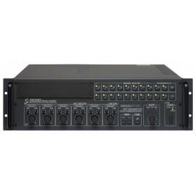 Amplificatore Mixer P.A. da 250W a 20 ZONE di controllo volume con Attenuatore