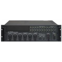 Amplificatore Mixer P.A. da 250W a 10 ZONE di controllo con Attenuatore