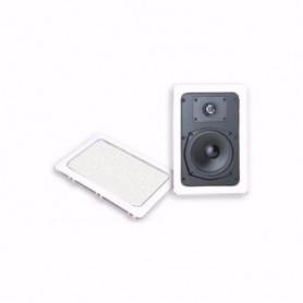Diffusore rettangolare 2 vie con woofer da 13cm + Tweeter - Hi-Fi Quality da incasso a soffitto o parete